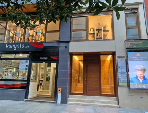 Centro Capilar Rodrigo Caicoya en la calle Corrida en Gijón